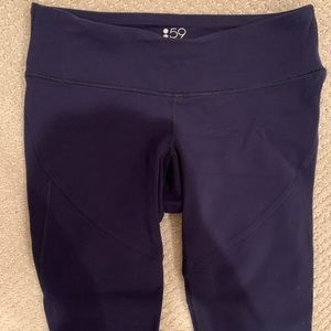 Navy Splits59 Leggings